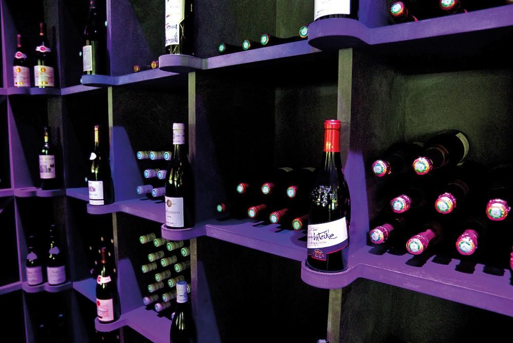 Casiers pour bouteilles